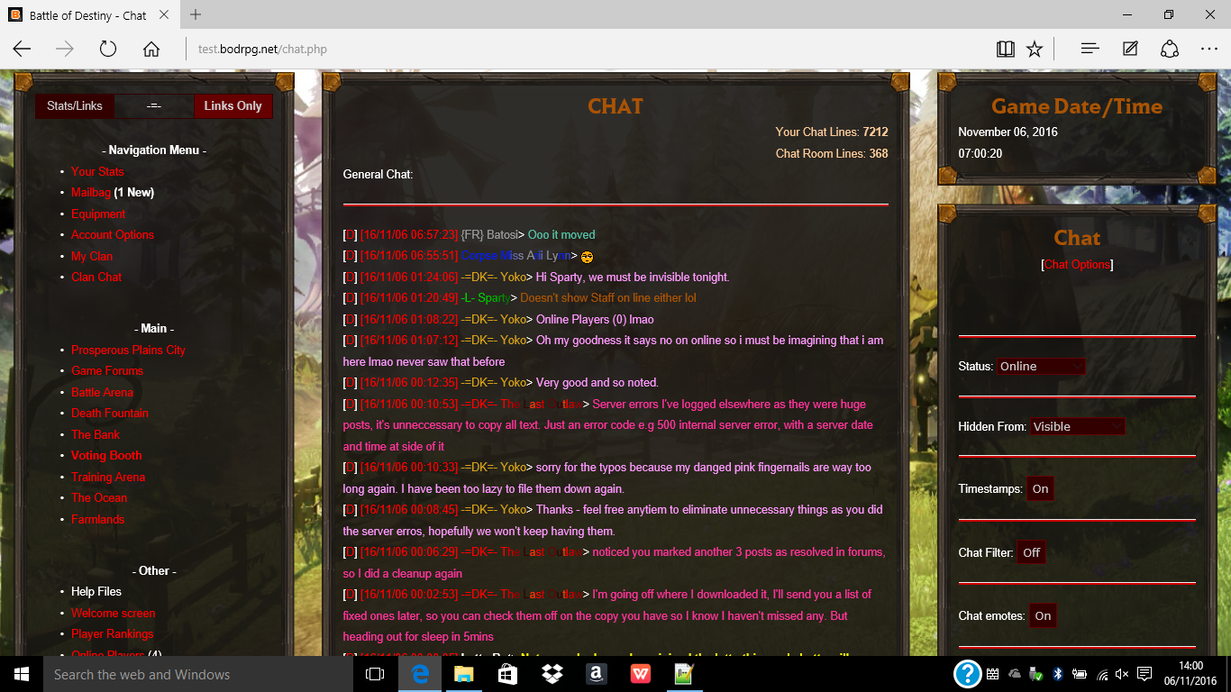 Chat Screenshot
